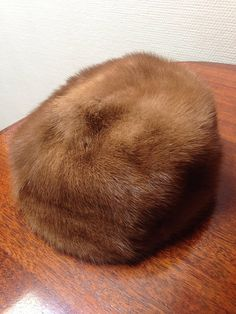 Danish Vintage Fur Hat from the 1960's / Made in Denmark / Scandinavian / 1960's / 1950s / Soft Hat / Magasin