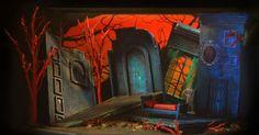"""DRACULA Set Design 1 - DRACULA Set Design 1/4"""" Model by KIM A. TOLMAN www.kimtolmandesi... --- #Theaterkompass #Theater #Theatre #Schauspiel #Tanztheater #Ballett #Oper #Musiktheater #Bühnenbau #Bühnenbild #Scénographie #Bühne #Stage #Set"""