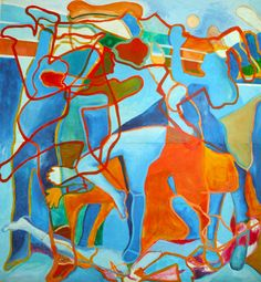 Collaboration | Quaymberley Collaboration, Painting, Art, Painting Art, Paintings, Kunst, Paint, Draw, Art Education