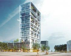 C.F. Møller Chosen to Design Antwerp Residential Tower   ArchDaily