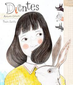 A partir de la pérdida accidental de un diente de leche, la pequeña Natalia narra lo que le sucede en su casa, con su papá, su mamá y Paz, su conejo, y en la escuela. Así es Dientes, de Antonio Ortuño (texto) y Flavia Zorrilla (ilustraciones), publicado por Petra Ediciones.