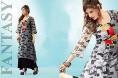 Catalog MOQ : Single Total Design : 5 Catalog Name: Pretty Category : Kurti Price : 3690 Fabric : Georgette / Tapeta Brand :  New Pretty Kurti Catalog