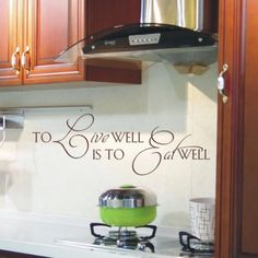For my kitchen!