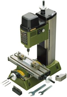 Trying to find a good value CNC or Click-N-Carve machines can take a lot of time. Here are my thoughts on current and budget older CNC models that give you a good value for your money. Woodworking Power Tools, Woodworking Jigs, Lathe Tools, Woodworking Equipment, Benchtop Milling Machine, Metal Mill, Best Random Orbital Sander, Best Circular Saw, Tool Bench