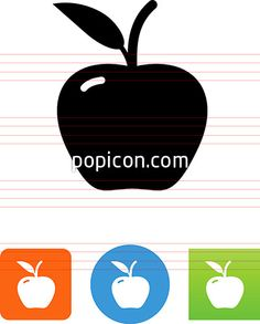 Apple Icon - Illustration from Popicon