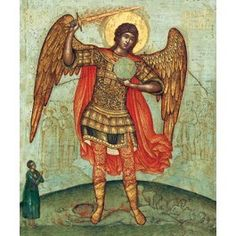 St Michael the Archangel. Starting at $3.00. Catalog of St Elisabeth Convent. #CatalogOfGoodDeed #icon #handmade #church #Christianity #buy #order #online #angel. About workshop: http://catalog.obitel-minsk.com/icon-painting