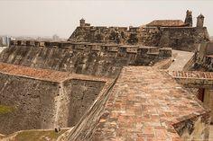 Castillo San Felipe de Barajas, Cartagena, Colombia