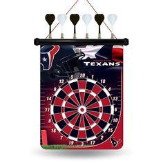 Houston Texans Nfl Magnetic Dart Board