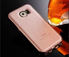 Luxury-Aluminum-Metal-Bumper-Silk-Leather-Back-Case-Cover-For-Samsung-Galaxy-S5