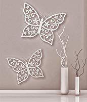 Firstlaser Wanddekoration Schmetterlinge, 2er-Set: Amazon.de: Spielzeug Stencils, Silhouette, 3d, Home Decor, Poppies, Plants, Manualidades, Wood, Butterflies
