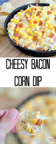 This bacon corn dip
