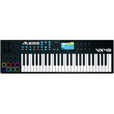 Alesis - 49-Key USB/MIDI Controller with Full-Color Screen