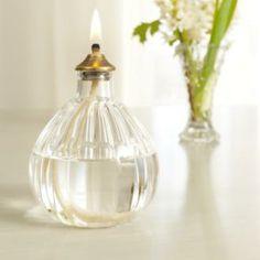 Samworth Glass Oil Lamp from jim-lawrence.co.uk #valentine