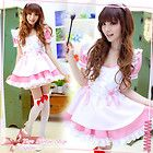 Sexy Japan Pink Ruffle Lolita Maid Outfit Cosplay Halloween Costume Fancy Dress  - CosplayDresses.com