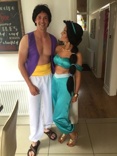 Princess jasmine and Aladdin costume