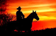 cowboy sunset | Cowboy Sunset