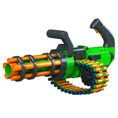 Gatling Machine Gun Motorized Automatic Rapid-Fire Belt Dart Blaster For Kids Toy Nerf Guns, Nerf Toys, Nerf Machine Gun, Pistola Nerf, Next Living Room, Nerf War, Summer Crafts For Kids, Kids Ride On, Cool Guns