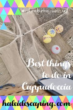 Get practical travel tips, guides, and inspiration to help you plan an amazing trip to Cappadocia, Turkey, including how to book a hot air balloon ride! Air Balloon Rides, The Balloon, Stuff To Do, Things To Do, Stay In A Castle, Cave Hotel, All Ride, Carpet Shops, All Flights