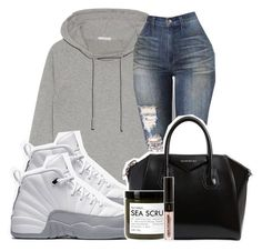 """""""Untitled #155"""" by trillqueen34 ❤ liked on Polyvore featuring James Perse, NIKE, Givenchy and Fig+Yarrow"""