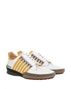 Dsquared Sneaker Stripes yellow