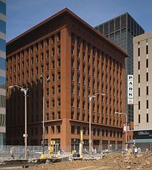 The idea that form follows function became really strong with modern architecture and industrial design. The Wainwright Building by Louis Sullivan represents this movement clearly through its very functional and purposeful design that leads  to an elegant and aesthetically pleasing form.