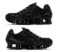 Cross Country Running Shoes, Mens Running Trainers, Cheap Running Shoes, Lightweight Running Shoes, All Star, Nike Shox, Sports Shoes, All Black Sneakers, Hiking Boots