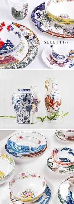 """Hybrid"" collection // modern ceramics"