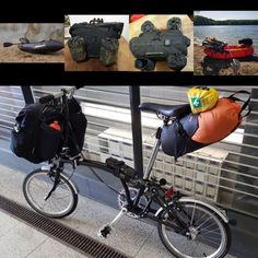 Velo Brompton, Bike Accessories, Bike Stuff, Touring, Baby Strollers, Cycling, Freedom, Bicycle, Adventure
