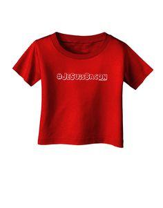 TooLoud Hashtag JeSuisBacon Deco Infant T-Shirt Dark
