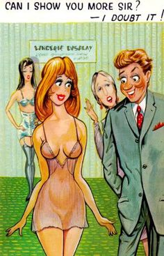 """Postcards of the Past - Comic """"Seaside"""" Postcards"""