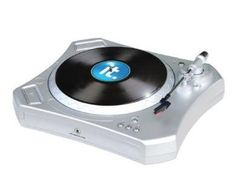 IT ITUT-300 Turntable Vinyl to Digital USB by innovative technology. $91.24. Includes: USB Turntable, USB Cable, Stereo Line-out Cable, Ceramic Pick Up, 45 rpm Adapter, Audacity Software, and AC power cord. Got a great vinyl collection that you want to archive or update for the digital age? This high-tech turntable transfers your classic and rare LPs to digital files with plug-and-play ease. Model ITUT-300.