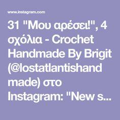 """31 """"Μου αρέσει!"""", 4 σχόλια - Crochet Handmade By Brigit (@lostatlantishandmade) στο Instagram: """"New size chart! I'm pretty happy with how it turned out 🤓 #crochet #design #handmade #shop #etsy…"""""""