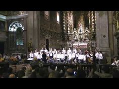 "AMAC, Coro Juvenil, ""Jesus, what a worderful child"""