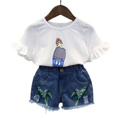 NWT Girl/'s Gymboree Hop n/' Roll flower shirt shorts outfit 5 6 10 FREE SHIPPING