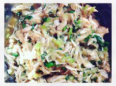 """「ささ身のおろし和え」  """"Chicken Fillet in grated Daikon"""" 1900pm - 0230am http://ift.tt/2iOGJSW"""