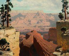 James Swinnerton - Grand Canyon, 1930