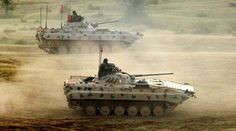 Indian Army's BMP-2 Sarath Infantry Combat Vehicles