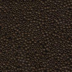 MIYUKI 11/0 ROUND SEEDBEAD  23.5grm Opaqua brown by BeadsFABUCRAFT, $3.50