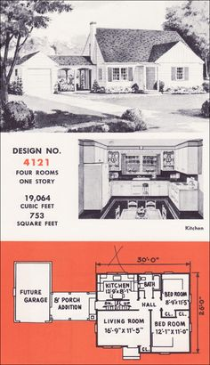 European Style House Plan - 3 Beds 2 Baths 1948 Sq/Ft Plan ...  |1948 Cape Cod House Plans
