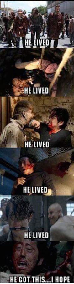 He lived every time. Go Glenn!