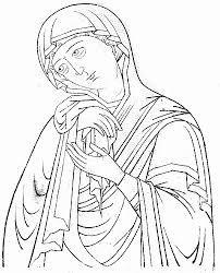 Znalezione obrazy dla zapytania прориси икон