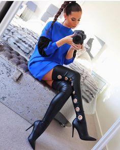 "673 curtidas, 3 comentários - Chris • Highheels Paradies (@high_heeled_women) no Instagram: ""Beauty in hot heels @laurabadura #shoes #shoeporn # #instafashion #instagramers #highheels #heels…"""