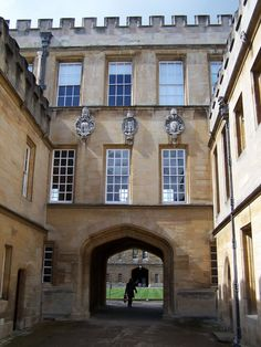 New College | Flickr - Photo Sharing! Oxford England, Worcester College, Oxford United Kingdom, Oxford City, New College, English Village, Student Fashion, Dream City, Landscapes