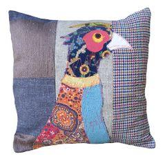 Carola van Dyke Pheasant Countryside Cushion - love this design but can't afford it at £75 !