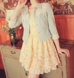 #Kfashion cute spring/summer outfit.