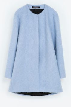 Want it... Zara coat - New In Store - December 2013