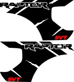 """Choose the """"Raptor SVT"""" Script Color and Material Ford Raptor, Raptor Truck, Ford Ranger Raptor, Fox Racing, Car Stickers, Car Decals, First Car Insurance, Truck Lettering, Sport Cars"""