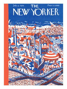 The New Yorker Cover - April 4, 1925 Premium Giclee Print