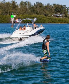 The Flight Series Package makes the 215 Deck Boat an ideal choice for carving some wake. New Pontoon Boats, Luxury Pontoon Boats, Fishing Pontoon Boats, Deck Boats, Outdoor Toys, Outdoor Fun, Led Boat Lights, Boat Insurance, Sport Boats