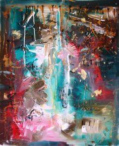 "Saatchi Art Artist melanie prapopoulos; Painting, ""Where Have You Been"" #art"